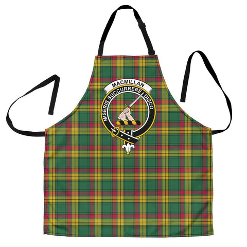 MacMillan Old Ancient Tartan Clan Crest Apron