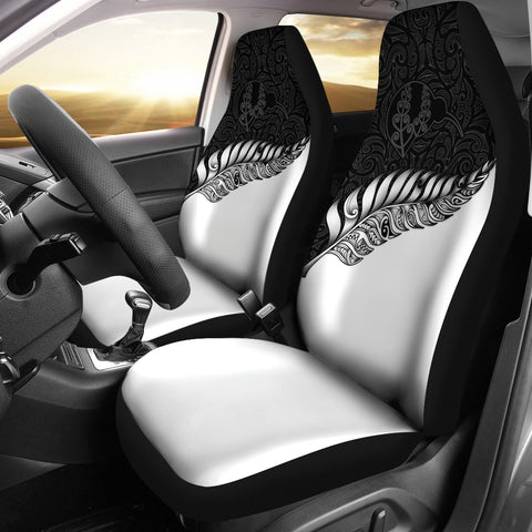New Zealand Car Seat Covers Silver Fern Kiwi | Love The World
