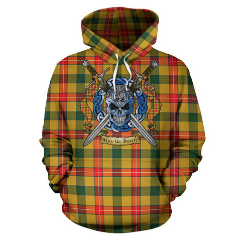 Baxter Tartan Hoodie Celtic Scottish Warrior A79 | Over 500 Tartans | Clothing | Apaprel