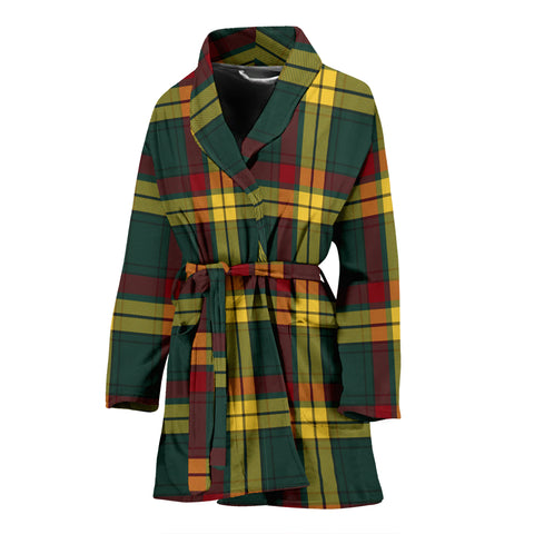 Macmillan Old Modern Tartan Women's Bath Robe