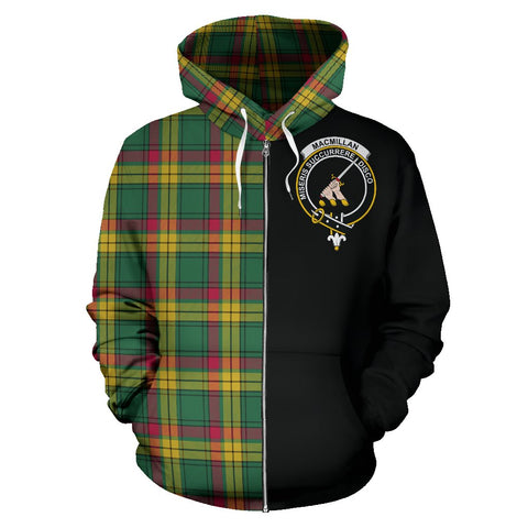 Image of MacMillan Old Ancient Tartan Hoodie Half Of Me | 1sttheworld.com