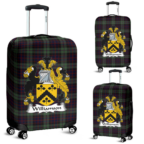 Williamson Tartan Clan Badge Luggage Cover Hj4 | Love The World