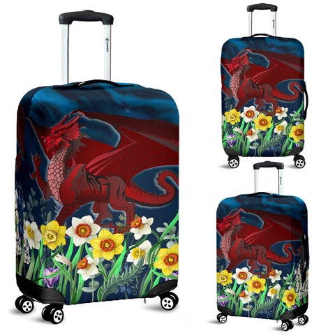 Welsh Luggage Covers - Dragon Daffodil | Home Set | Love The World
