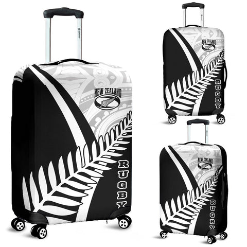 New Zealand Rugby Luggage Cover - New Zealand Fern & Maori Patterns