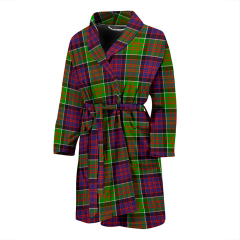 MacDonald Of Clanranald Tartan Men's Bathrobe - BN04