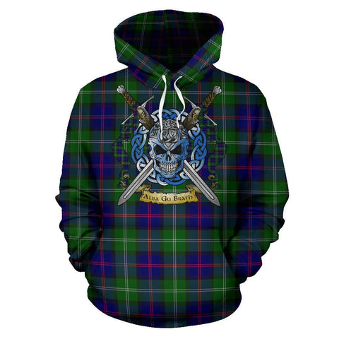 MacThomas Modern Tartan Hoodie Celtic Scottish Warrior A79 | Over 500 Tartans | Clothing | Apaprel