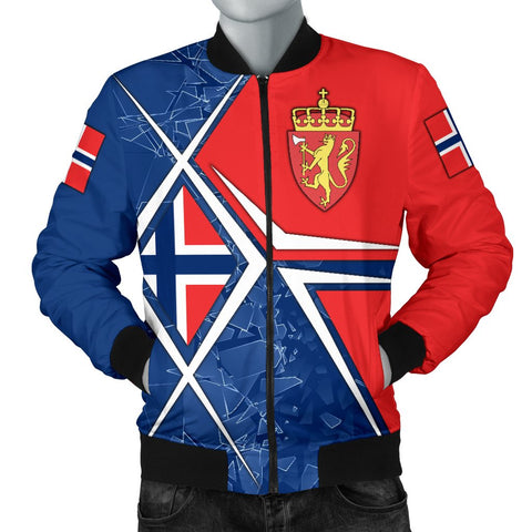Norway Men's Bomber Jacket - Norway Legend