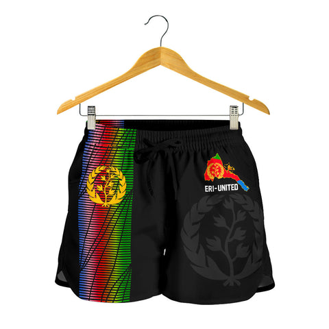 Eritrea Women's Shorts - Eritrea United A7