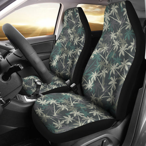 Camo Car Sear Covers - Palm Pattern - BN07