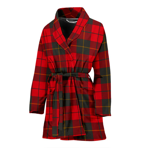 Wallace Weathered Tartan Women's Bath Robe