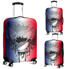france rugby luggage cover