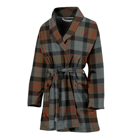 Gunn Weathered Tartan Women's Bath Robe