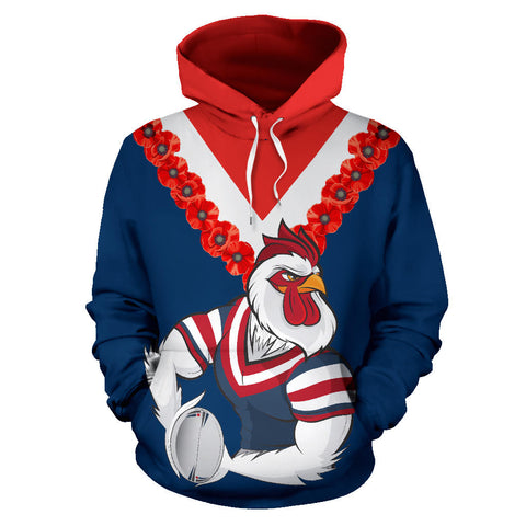 Image of Australia Roosters Hoodie front