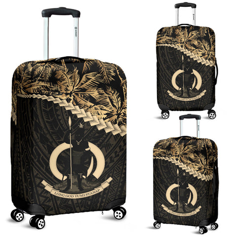 Vanuatu Luggage Covers Golden Coconut A02