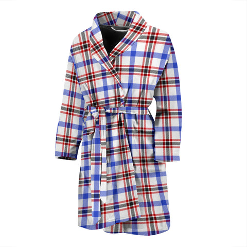 Boswell Modern Tartan Men's Bath Robe