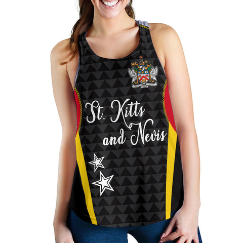 Saint Kitts and Nevis Women's Racerback Tank Exclusive Edition