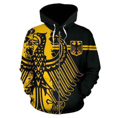 Germany Zip-Up Hoodie