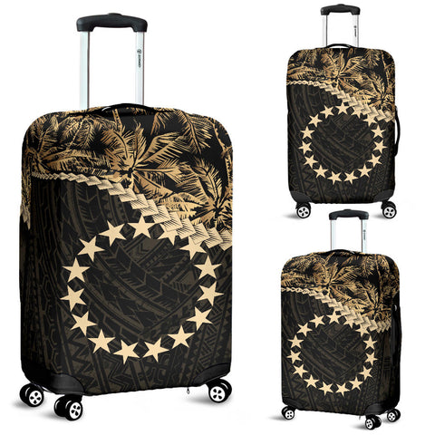 Cook Islands Luggage Covers Golden Coconut A02