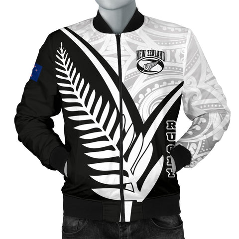 New Zealand Rugby Men's Bomber Jacket - New Zealand Rugby
