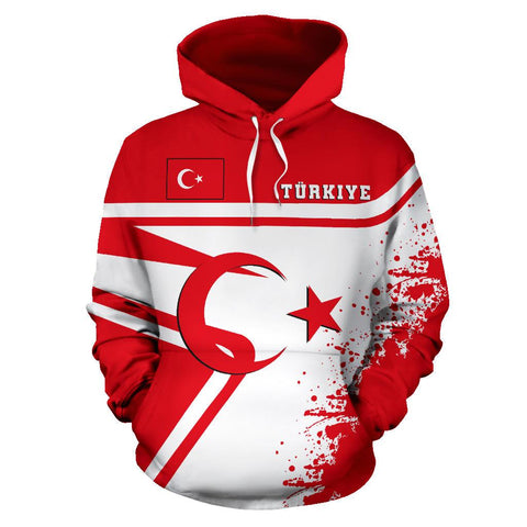 Turkey Hoodie Painting Style | 1sttheworld.com