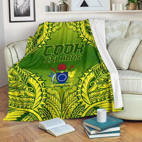 Cook Islands Premium Blanket | High Quality Printing