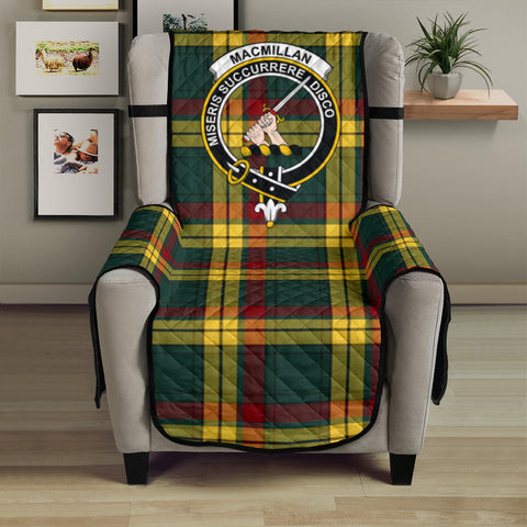 MacMillan Old Modern Tartan Clan Badge Sofa Protector