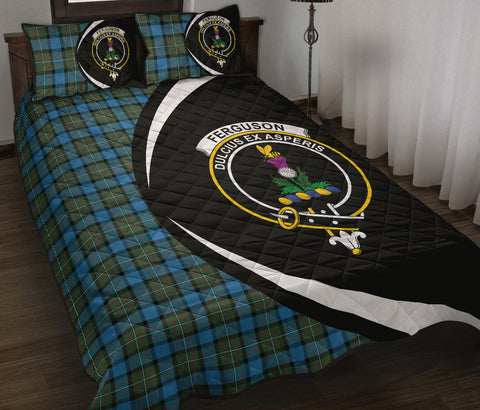 Fergusson Ancient Tartan Quilt Bed Set Circle