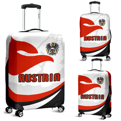 Austria Luggage Covers Proud Version | 1sttheworld