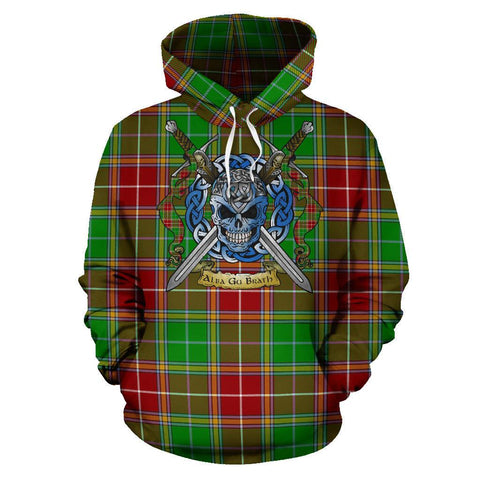 Baxter Modern Tartan Hoodie Celtic Scottish Warrior A79 | Over 500 Tartans | Clothing | Apaprel