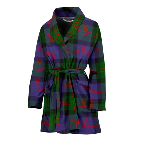 Blair Modern Tartan Women's Bath Robe