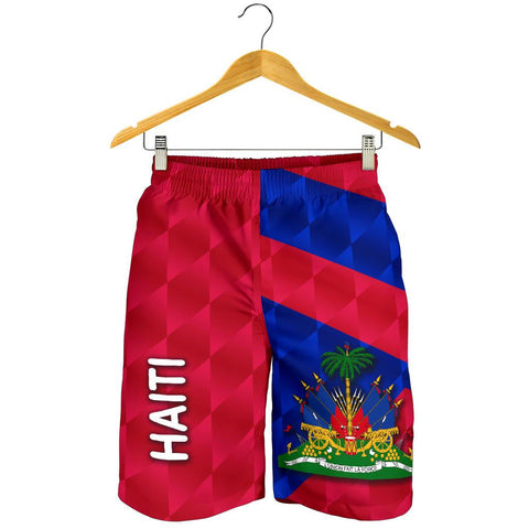 Haiti Men Shorts Sporty Style