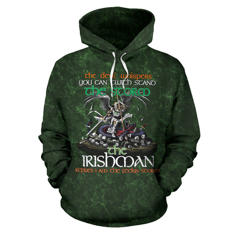 Ireland Hoodie Irish Pride - The Irishman A7
