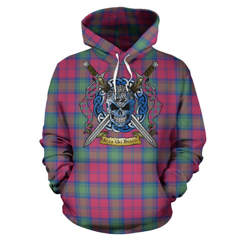 Lindsay Ancient Tartan Hoodie Celtic Scottish Warrior A79 | Over 500 Tartans | Clothing | Apaprel