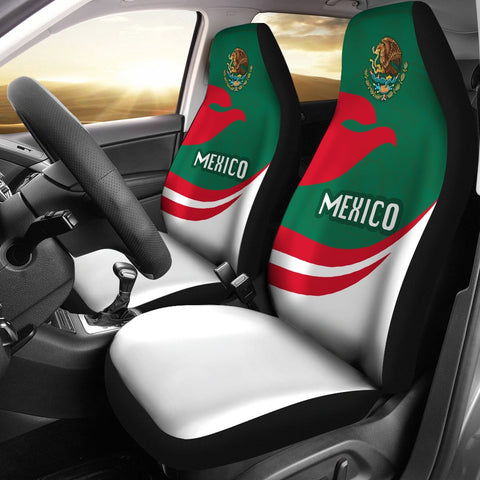 Mexico Car Seat Covers Proud Version | 1sttheworld