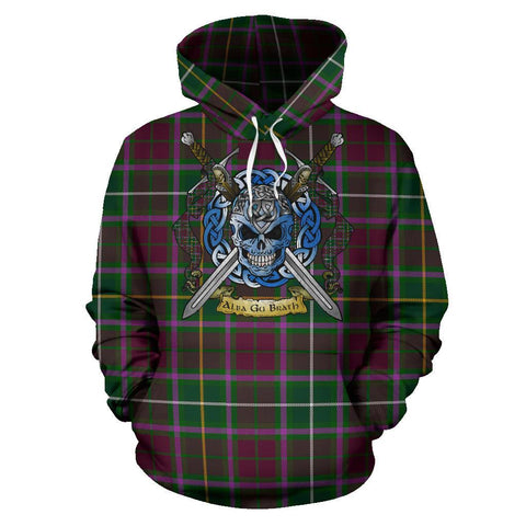 Crosbie Tartan Hoodie Celtic Scottish Warrior A79 | Over 500 Tartans | Clothing | Apaprel