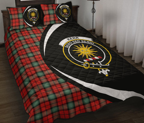 Kerr Ancient Tartan Quilt Bed Set Circle