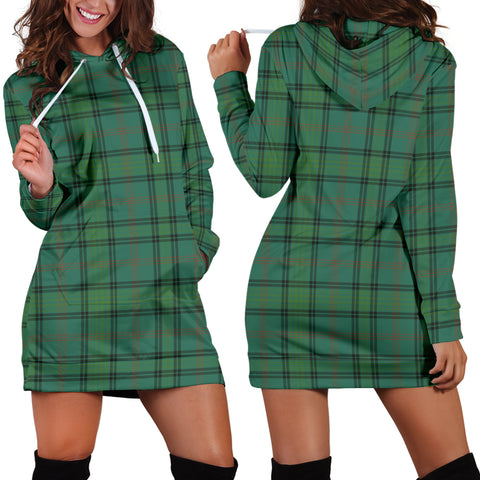Ross Hunting Ancient Tartan Hoodie Dress HJ4