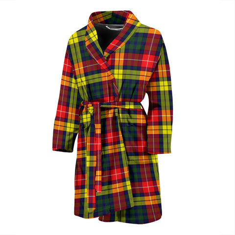 Buchanan Modern Tartan Men's Bath Robe