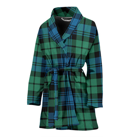 Campbell Ancient 01 Tartan Women's Bath Robe