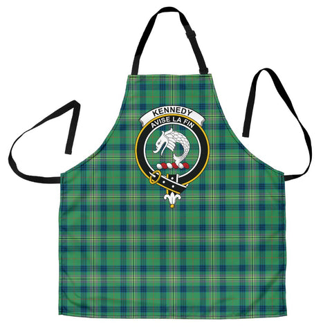 Image of Kennedy Ancient Tartan Clan Crest Apron HJ4