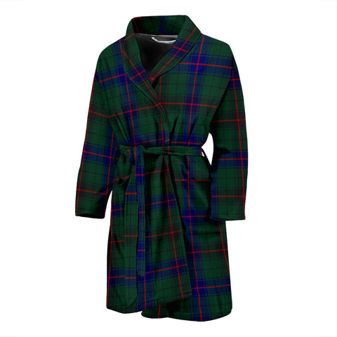 Davidson Modern Tartan Men's Bath Robe