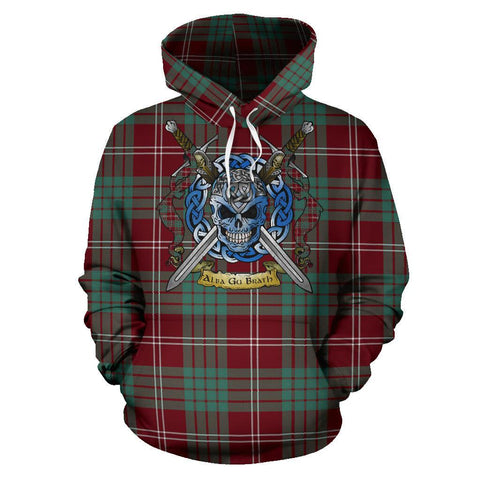 Crawford Modern Tartan Hoodie Celtic Scottish Warrior A79 | Over 500 Tartans | Clothing | Apaprel