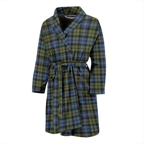 Campbell Faded Tartan Men's Bathrobe - BN04