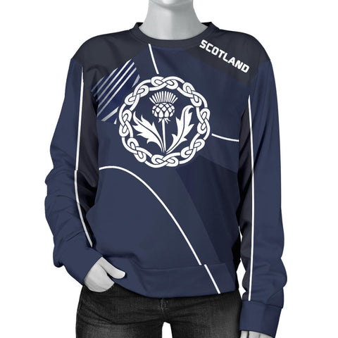 Scotland Women's Sweater - Increase Version font