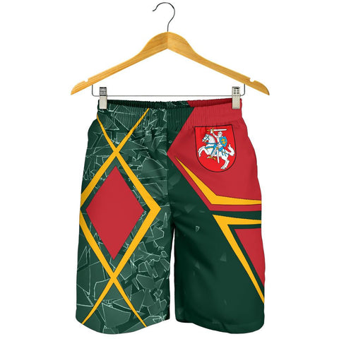 Image of Lithuania Men's Shorts - Lithuania Legend