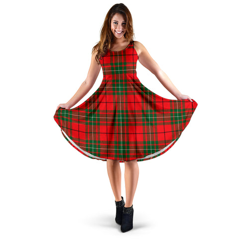 MacAulay Modern Tartan MiDi Dress | Women Dresses | Hot Sale