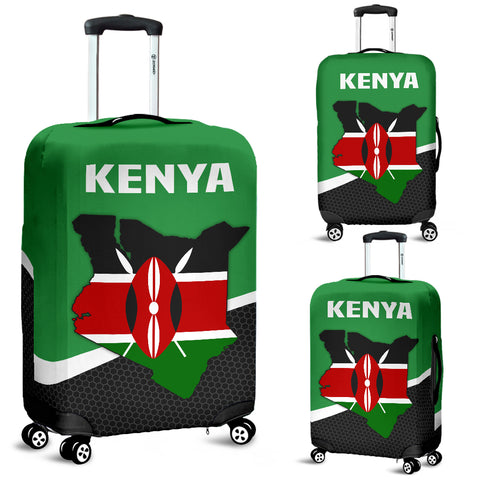 Kenya Map Special Luggage Covers | High Quality | Hot Sale
