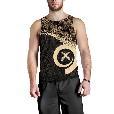 Vanuatu Men's Tank Top Golden Coconut | Love The World