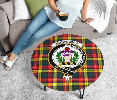 Buchanan Clans Cofee Table BN