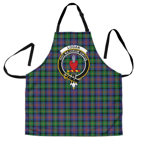 Logan Ancient Tartan Clan Crest Apron